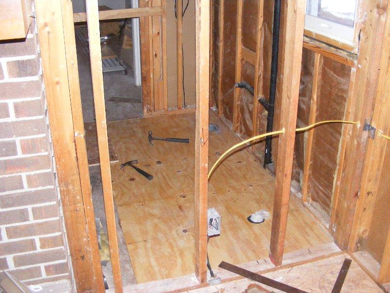 Repairing A Bathroom Subfloor